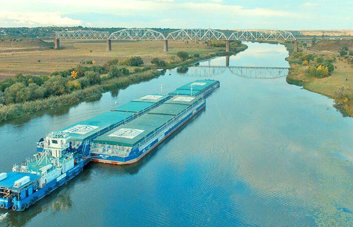 «Нибулон» установил новый рекорд речных грузоперевозок