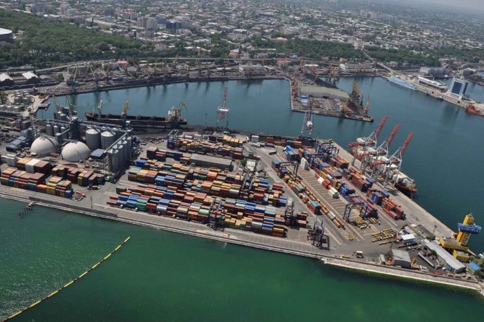 Началась подготовка к концессии паромного комплекса Черноморского порта