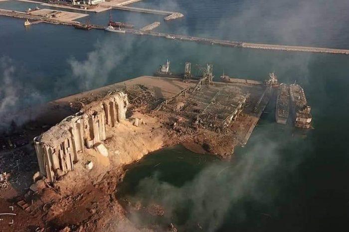 Контейнерные линии покидают разрушенный взрывом порт Бейрута