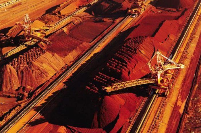 Китайский импорт железной руды приблизился к рекордно высокому уровню