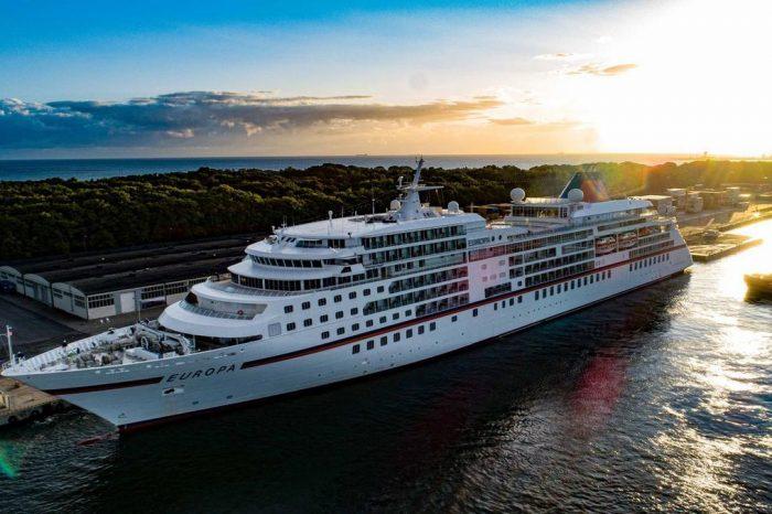 Порт Гданьск принял первое в сезоне круизное судно