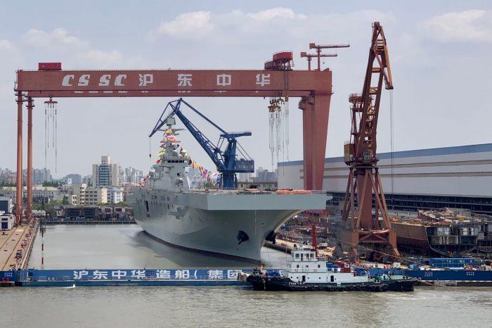 На китайских судоверфях снижаются объемы строительства