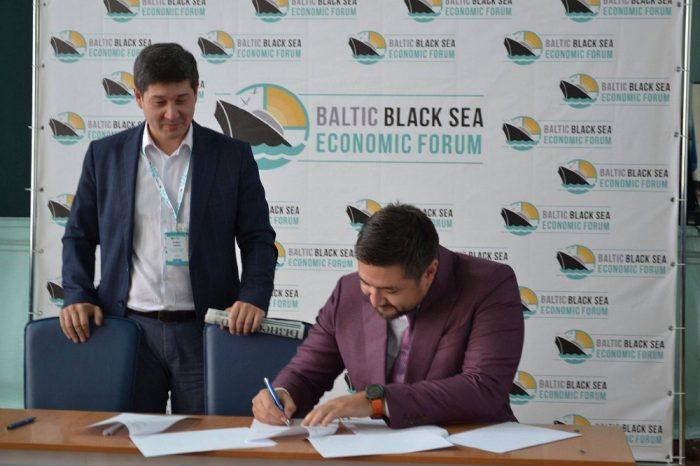 В Херсоне подписали договор Каспийско-Черноморско-Балтийского сотрудничества