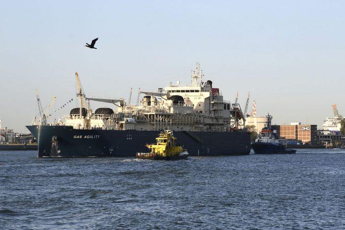 Названо крупнейшее в мире судно-бункеровщик СПГ