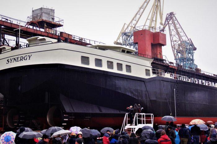 Построенный в Херсоне танкер уже вышел в рейс (ФОТО)