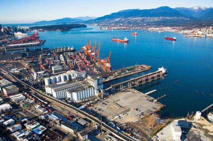Ванкувер станет площадкой для новой перевалочной станции CP и Maersk