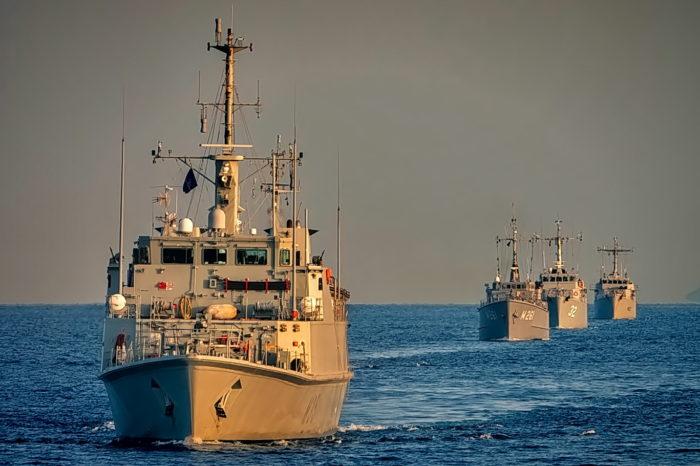 Эскадра НАТО вошла в Черное море (ФОТО)