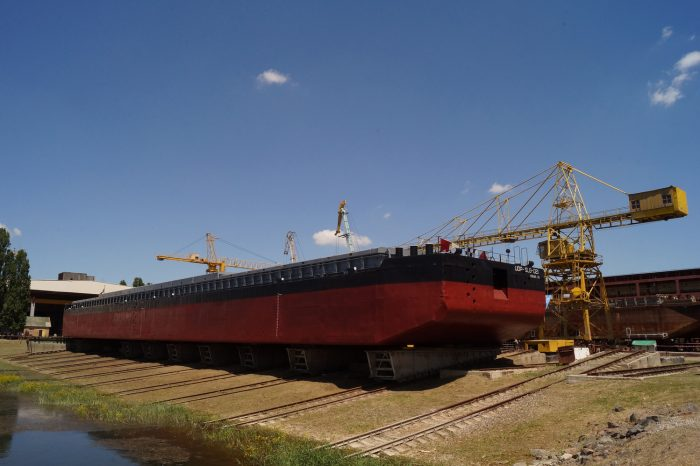 НАБУ и СБУ устроили обыски в Дунайском пароходстве
