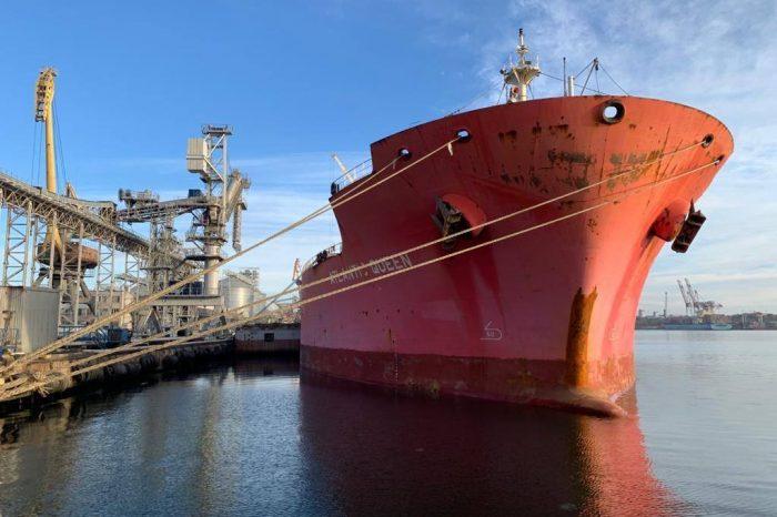 В порту Черноморск морской агент нарушает нормы экологической безопасности