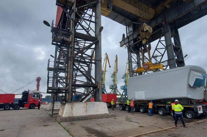 Порт Рени перегрузит ветряные турбины для новой ВЭС