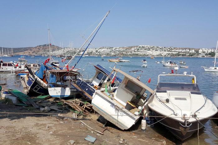 В Эгейском море произошло сильное землетрясение