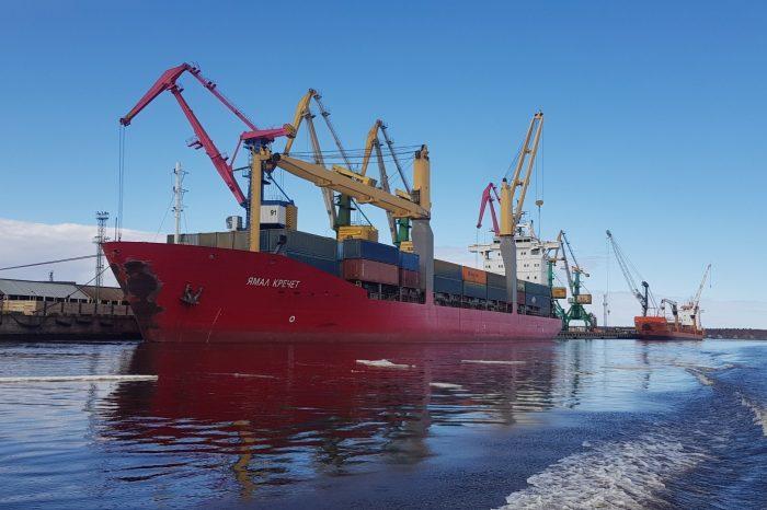 Контейнерооборот через порты Арктического бассейна в августе вырос на 11,3%
