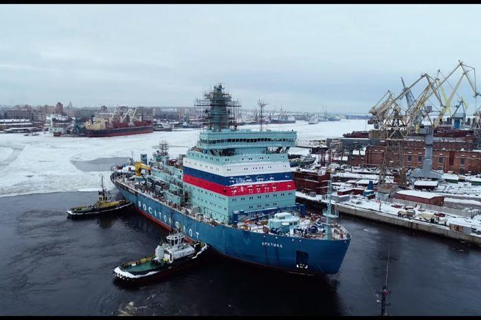 Введён в строй самый мощный в мире ледокол «Арктика»