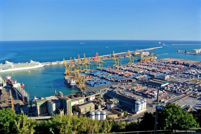 Порт Барселоны снижает выбросы углерода на 20%
