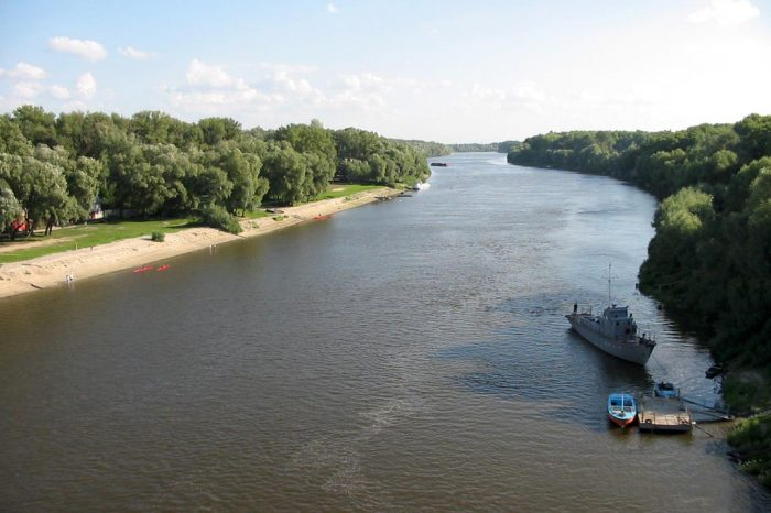 Перечень судоходных рек в Украине расширили