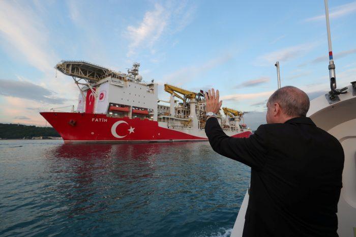 Эрдоган хочет обнародовать общий размер газовой находки в Черном море