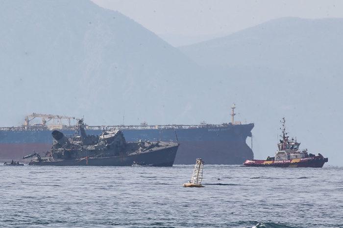 В Пирее арестовали капитана Maersk Launceston