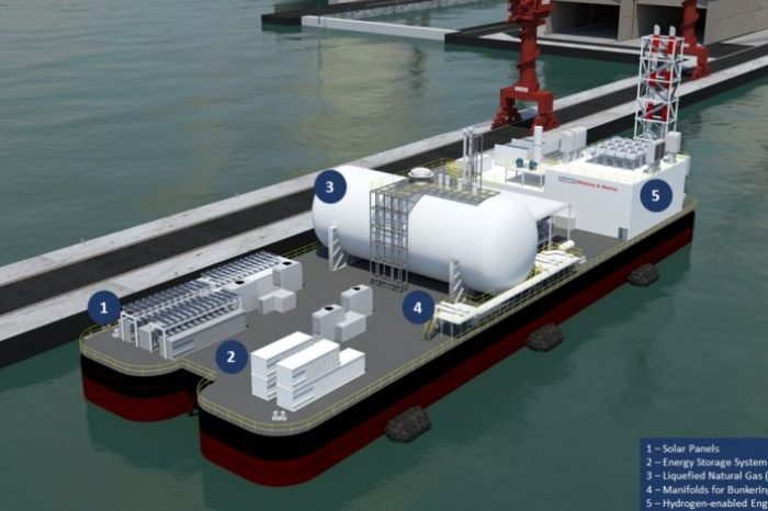Keppel и EMA работают над созданием плавучей системы накопления энергии