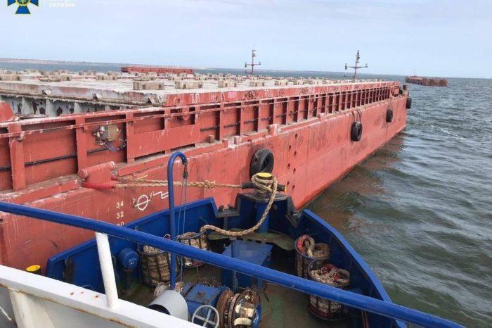 Как у Украинского дунайского пароходства 32 баржи украли