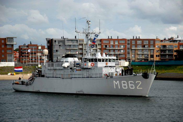 Болгария приобрела у Нидерландов два минно-тральных корабля