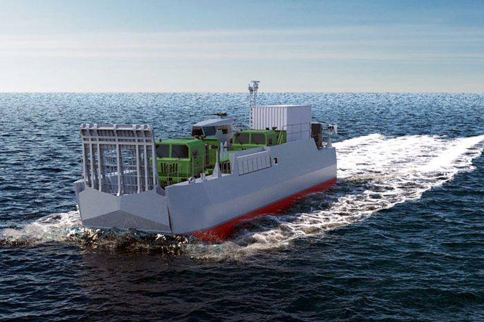 Во Франции представили новые многофункциональные суда для ВМС
