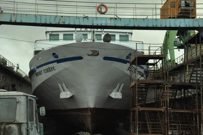 Одесская судоверфь отремонтирует пассажирский лайнер