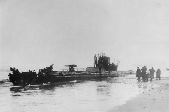 """Найдена подводная лодка """"потерянного флота Гитлера"""""""