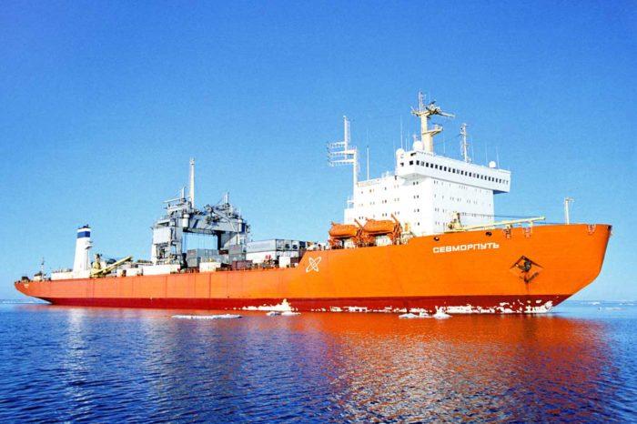 Единственное в мире атомное грузовое судно застряло у Анголы