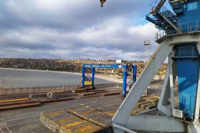 Мариупольский порт с начала месяца перегрузил 383,3 тыс. тонн грузов