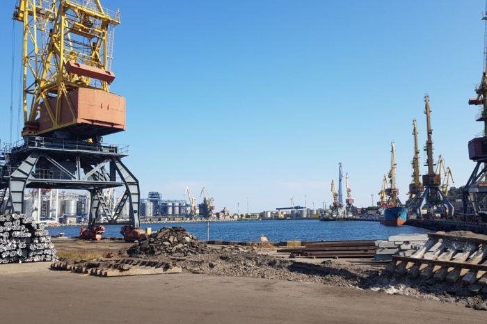 В Одесском порту реконструируют железнодорожные пути