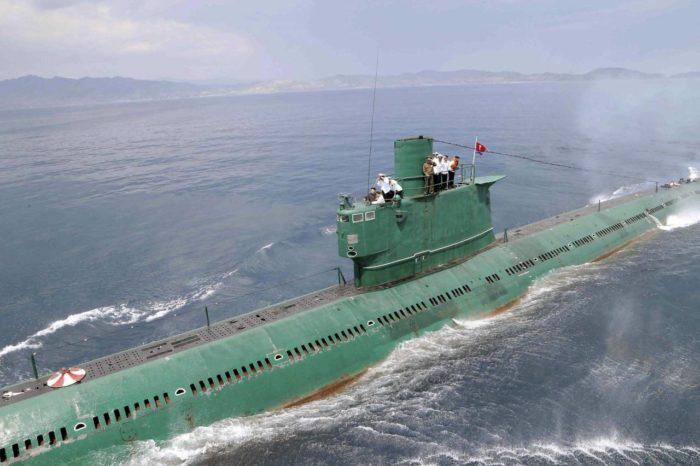 КНДР строит две подводные лодки с возможностью запуска баллистических ракет
