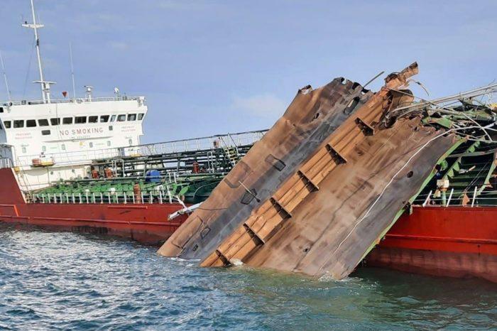 Помощнику капитана взорвавшегося танкера предъявили обвинение
