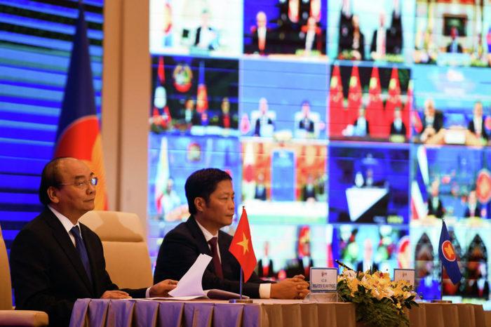 Страны АСЕАН и Тихоокеанско-Азиатского региона подписали соглашение о создании зоны свободной торговли
