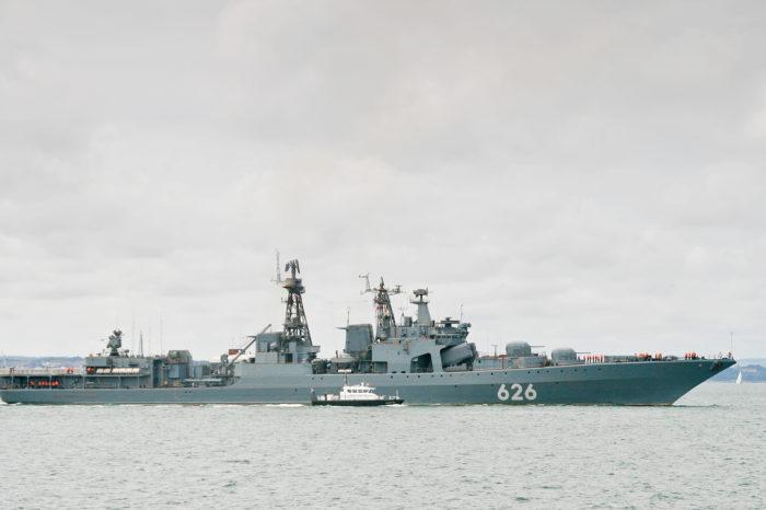 Британский флот сообщил о российских кораблях в Ла-Манше