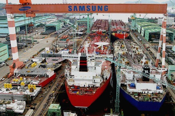Samsung Heavy Industries будет поставлять оборудование для танкеров РФ и суэцмаксы для Centrofin