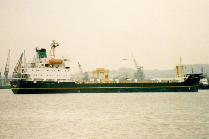 Великобритания утилизирует 33-летнее судно по перевозке радиоактивных материалов