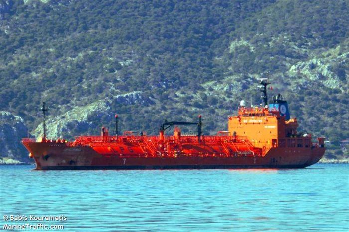 В Одессу прибудет танкер-газовоз из Роттердама