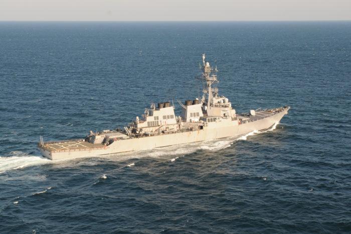Корабль США направляется в Черное море
