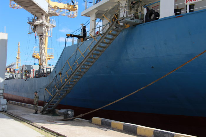 За сутки херсонские пограничники оформили 20 судов