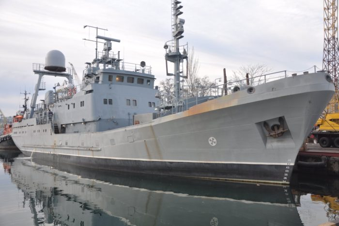 """Корабль """"Лагуна"""" ВМСУ готовится к государственным испытаниям"""