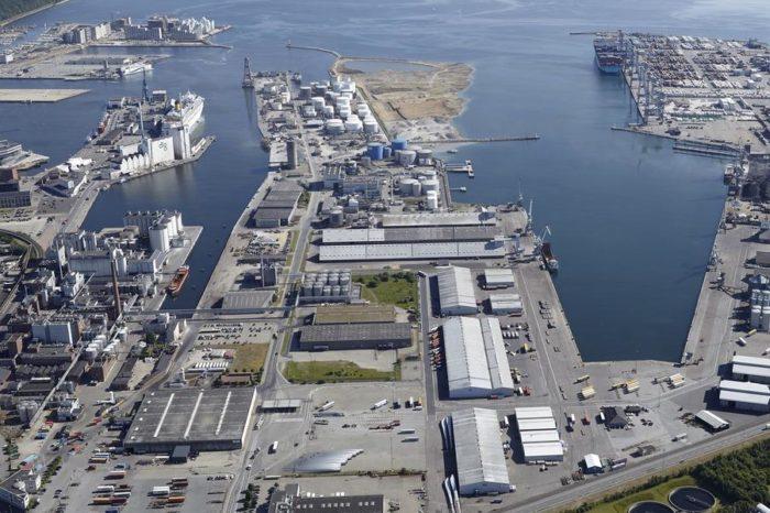 В порту Орхус открылся новый паромный терминал