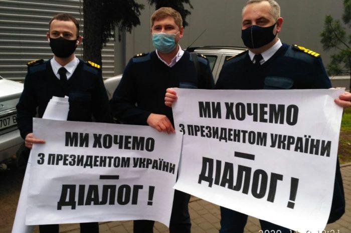 В  Украине моряки выходят на акции протеста