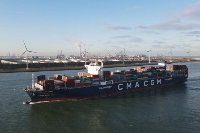CMA CGM Group начала бункеровку СПГ контейнеровозов в Роттердаме