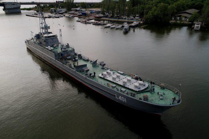 СДК «Юрий Олефиренко» спущен на воду