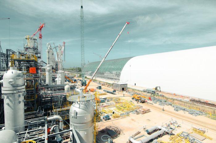 В Брунее строят крупный завод по производству азотных удобрений