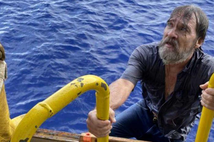 Моряки спасли яхтсмена, который провел два дня в открытом море