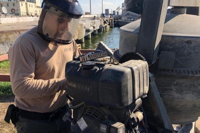 ВМС США отремонтировали военный причал в Очакове