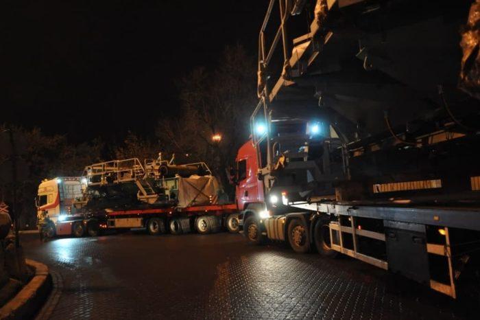 Одесский порт принял негабаритное оборудование экспортного назначения