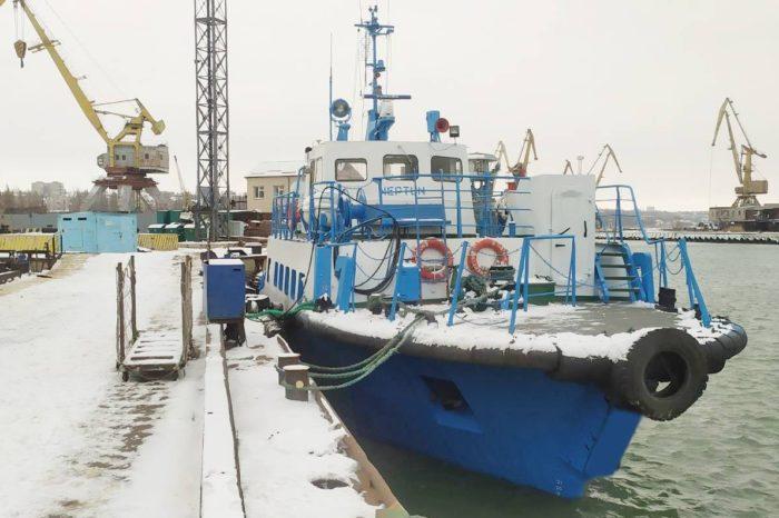 """На катере """"Нептун"""" завершили классификационный ремонт"""
