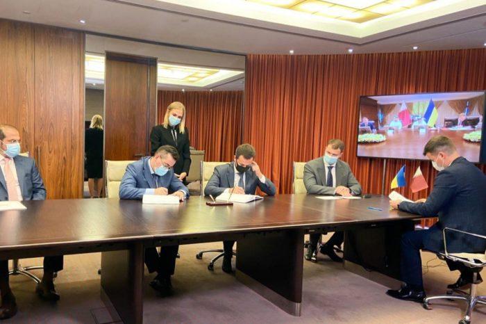 Министр инфраструктуры Украины встретился с катарскими концессионерами